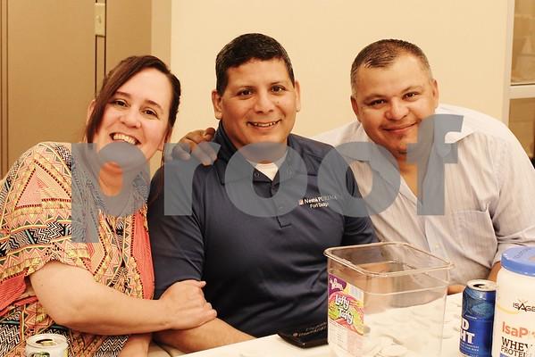 Mary and Sonny Rivera and Neftali Mercado