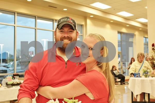 David DeBaun and Leah Applebee