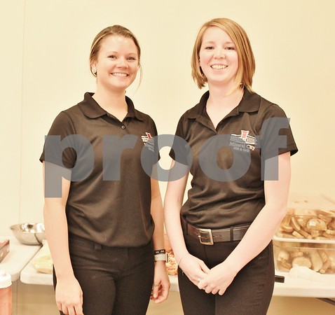 Ashley Bratoney and Allison Cobb