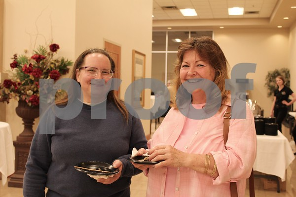 Mary Ann Haas and Mary Dial