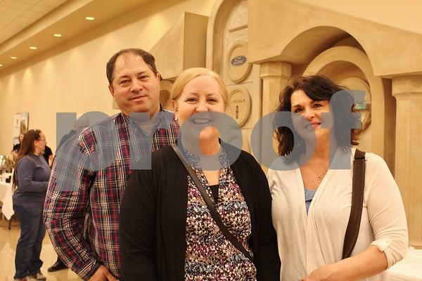Scott Phillips, Carla Berger and Tammy Sprengler