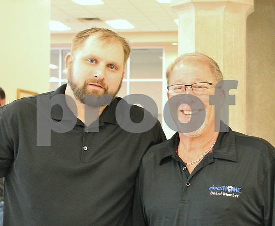 Eric Lakin and Bruce 'Stumpy' Wagner