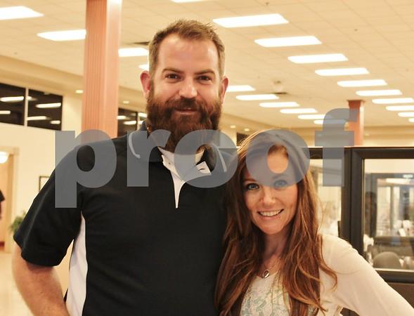 Matt White and Kinsey Dorman