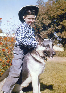Ralph (me) and Rinny 1957