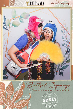 Furama Beautiful Beginnings Wedding Show | © www.SRSLYPhotobooth.sg