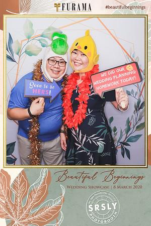 Furama Beautiful Beginnings Wedding Show | © www.SRSLYPhotobooth.sg
