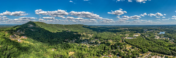 Paris Mountain Ridge