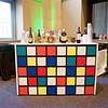 Chaney 5ft Custom Front Rubiks Cube