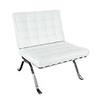 Marni White Accent Chair