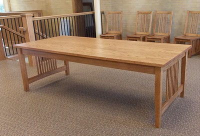 Red Oak 8' Table