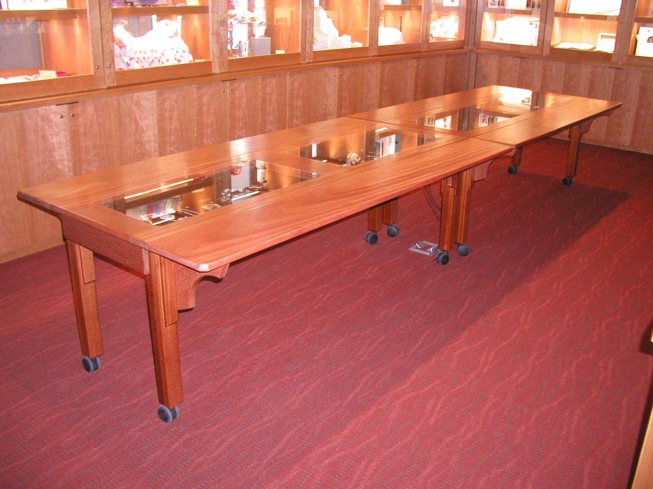 Display Tables at the Bainbridge Island Art Museum