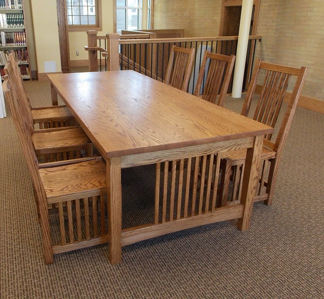 Red Oak 8' Table