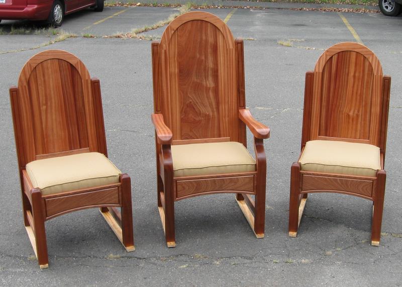 Sapele Chairs