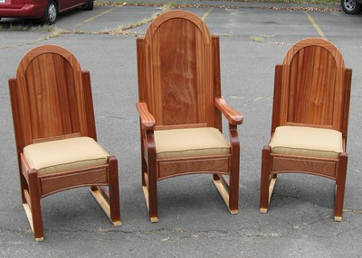 Sapele Chairs
