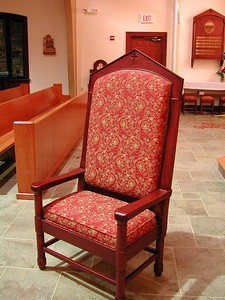 Mahogany  Presiders Chair