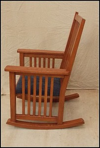 Red Oak Mission Rocker
