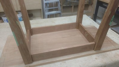 Cook Table - Mortise and tennon joinery
