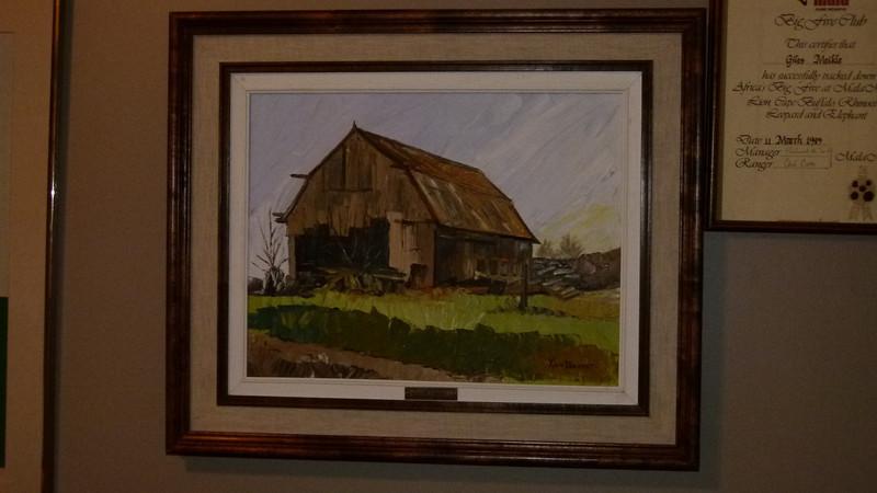 Yvon Provost - Barn - cost $200