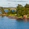 Summer houses in Stockholm archipelago