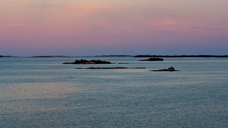 Evening in Stockholm Archipelago