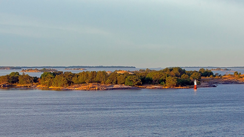 Early morning in archipelago