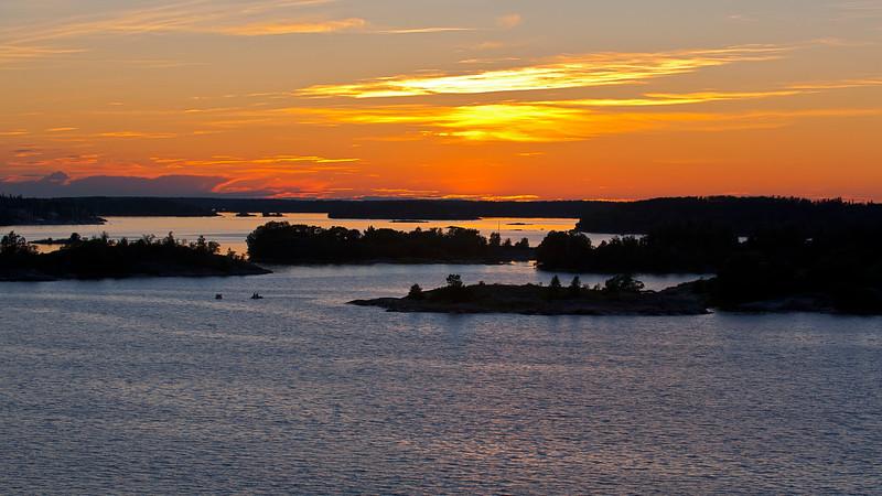 Furusundsleden in  Archipelago of Stockholm