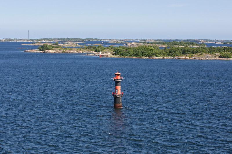 Lighthouse inStockholm archipelago