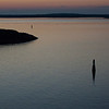 Sunset 22.17 in Stockholm archipelago