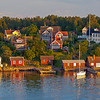 The village Furusund in Stockholm archipelago