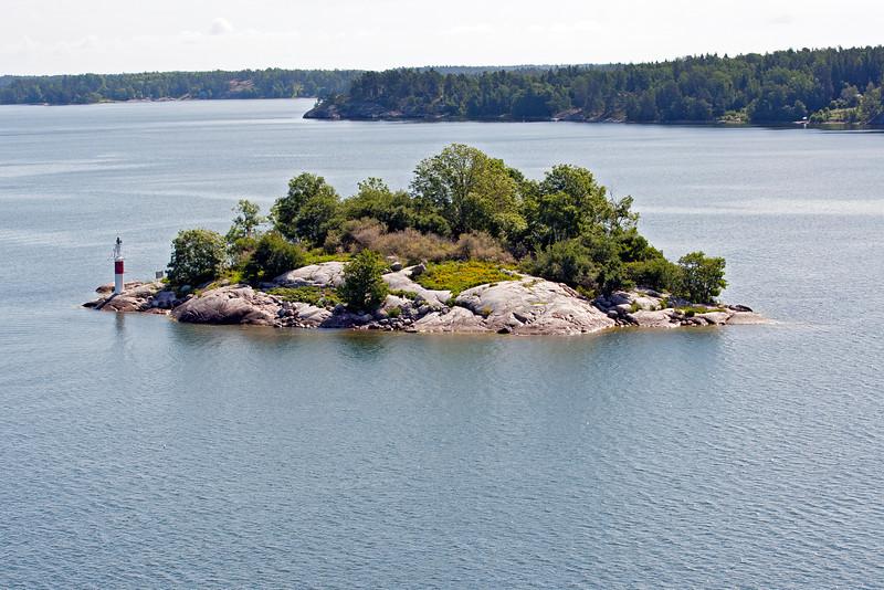 Island in Stockholm archipelago