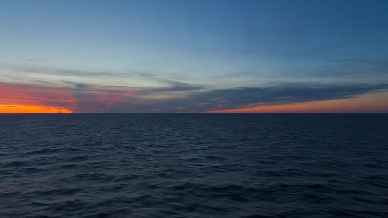 Baltic see - time 03.33 am