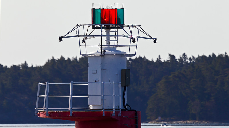 Lighthouse in Stockholm archipelago