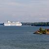 One of the boats Stockholm - Helsinki - Stockholm