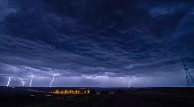 Stormy Night - Near Borden, Saskatchewan