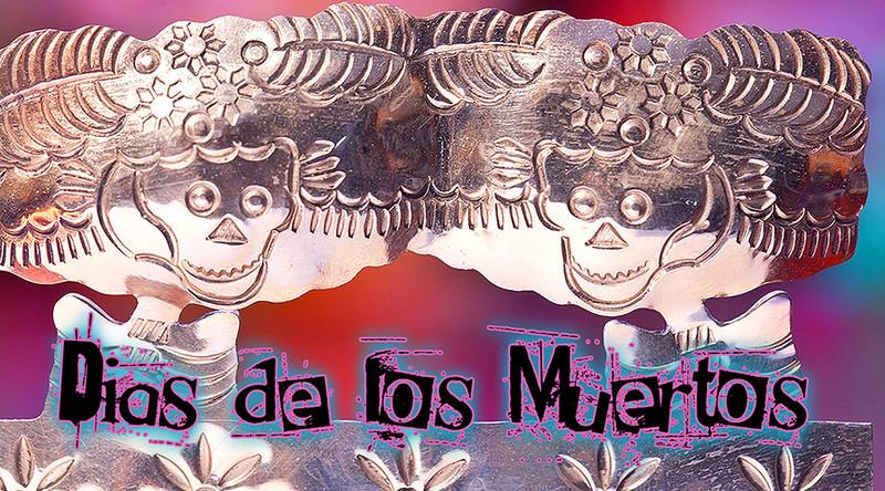 Sugar skull making at the Museo de los Americas.