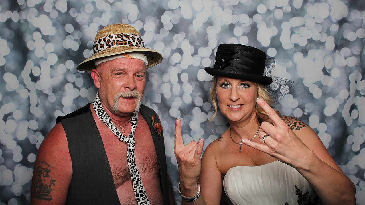 Gina & Bernie's Photo Booth Fun!