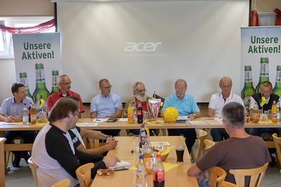 SV Obersülzen, Hans-Peter Briegel Pressekonferenz, Lotto-Elf