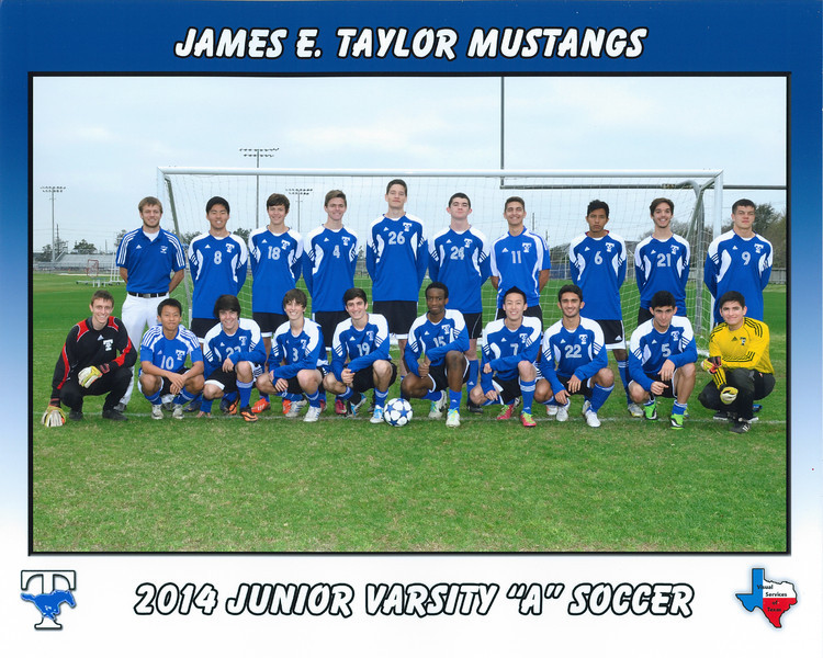 2014 Taylor Mustang's - JV-A Team Picture