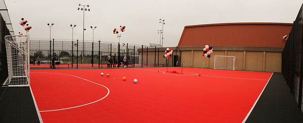 Futsal Court Ribbon Cutting