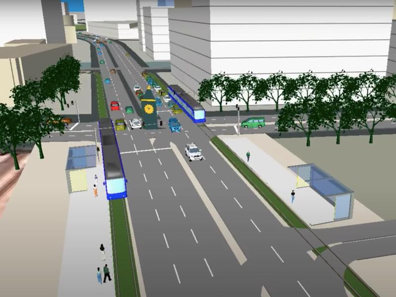 Brunei Metro - A proposed LRT/MRT for Bandar Seri Begawan