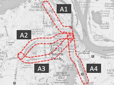 Phnom Penh Metro Corridors