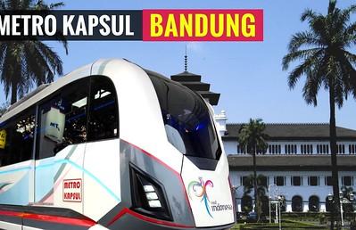 Bandung Announces Own, Cheaper LRT, the 'Metro Kapsul'