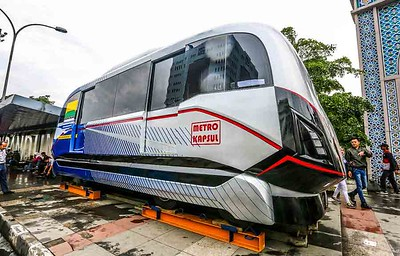 Metro Kapsul Prototypes is placed in Bandung Square City