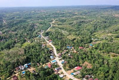 Sepaku district in North Penajam Paser, East Kalimantan