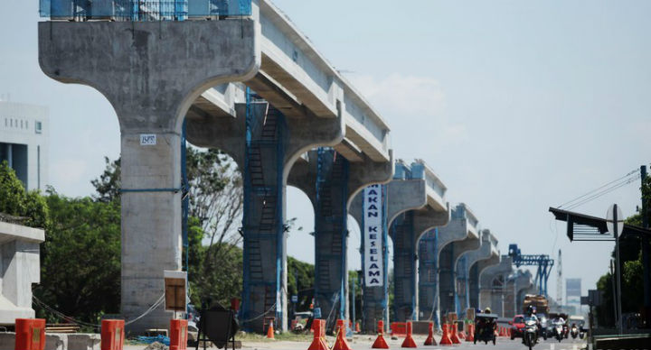 Palembang LRT on Track Ahead of Asian Games 2018 Thanks to Minister
