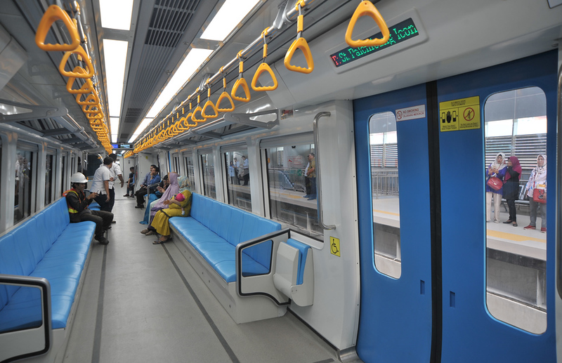 Palembang LRT Begins Operations