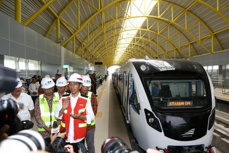 Widodo Palembang LRT