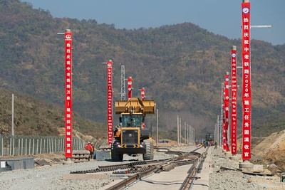China, Laos to complete railway by the end of this year