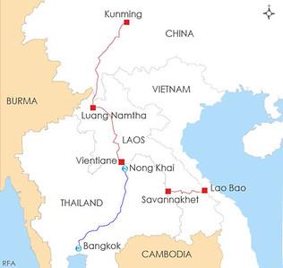 Kunming-Bangkok Railway