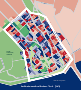 Ibrahim International Business District (IIBD) Map